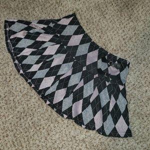 Plaid skirt (Misses)